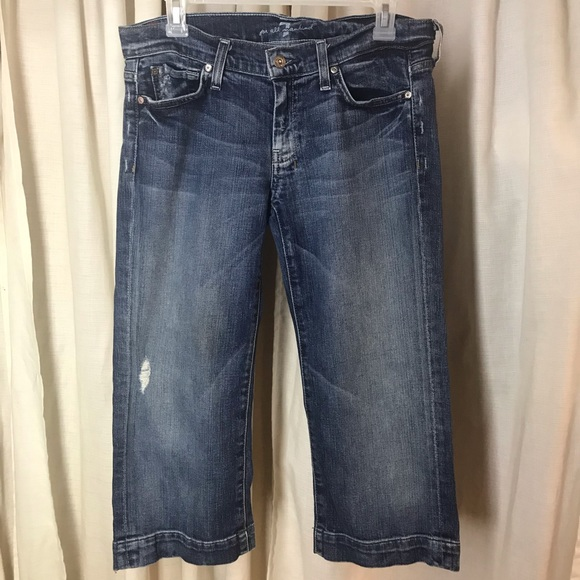 7 For All Mankind Denim - 7 For all mankind SZ 30 cropped Jean